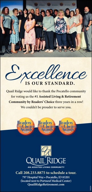 Excellence is Our Standard