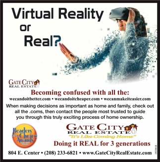 Virtual Reality or Real?