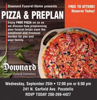 Pizza & Preplan
