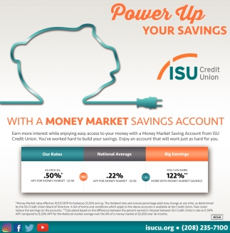 Power Up Your Savings