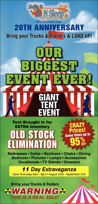 Our Biggest Event Ever