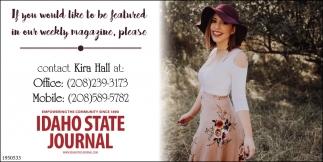 Contact Kira Hall