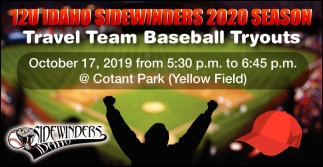 Travel Team Baseball Tryouts