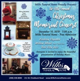 Christmas Memorial Concert