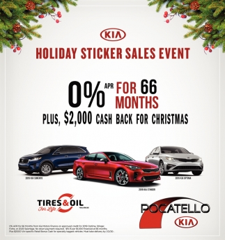Holiday Sticker Sales Event
