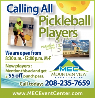 Calling All Pickleball