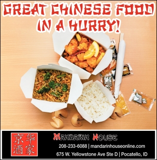 Great Chinese Food in a Hurry